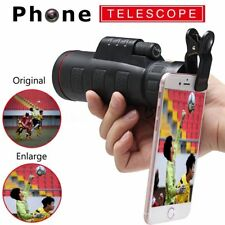 HD Clip-on 35×50 Optical Zoom Telescope Camera Lens Set for Universal Cell Phone