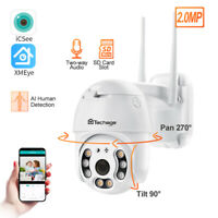 WiFi PTZ 1080P HD Home Security Wireless Waterproof Outdoor Onvif IP CCTV Camera