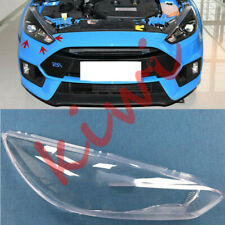 1Pcs Right Side Headlight Cover Clear PC With Glue For Ford Focus RS 2016-2018