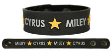 MILEY CYRUS Rubber Bracelet Wristband Bangerz Breakout Can't Be Tamed