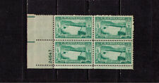 US USA Sc# 1009 MNH FVF PLATE # BLOCK Irrigation Power Grand Coulee Dam