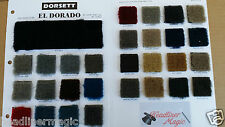 "Plush Cut Pile Automotive Carpet by the yard  80"" wide    29 Colors No Backing"