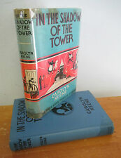 Dana Girls # 3 IN THE SHADOW OF THE TOWER by Carolyn Keene, 1943 in DJ
