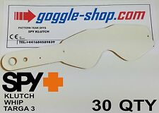 30 qty GOGGLE-SHOP MOTOCROSS TEAR OFFS to fit SPY KLUTCH WHIP TARGA 3 GOGGLES