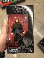 "Hasbro Star Wars The Black Series 6"" inch Luke Skywalker (Jedi Knight) in stock"