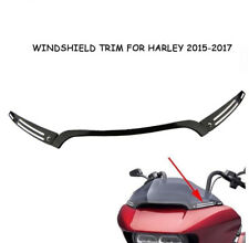 Split Windshield Center w/ Side Trim For Harley Touring Road Glide FLTRX 2015-17