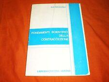 profess. ros fondamenti scientifici della contraccezione