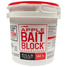 9 Lbs Rat Bait Rodent Bait Rat Killer Mouse Killer Apple Flavor Rat Bait 144 Blk