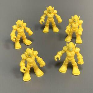 5x Playskool Marvel Super Hero Squad Yellow Ultron Sentry Villain Imaginext Toy
