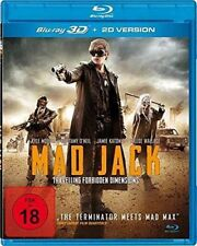 MAD JACK  3D Blu ray ( Includes 2D ) ( NEW )