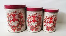 New Christmas Cookie Tin Biscuit Jar For Cookies Sweets Storage Barell Xmas Tins