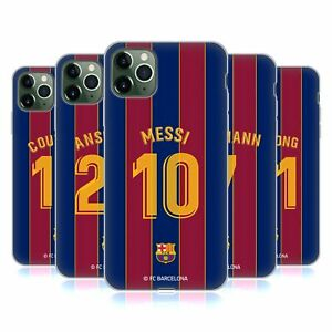 FC BARCELONA 2020/21 PLAYERS HOME KIT GROUP 1 GEL CASE FOR APPLE iPHONE PHONES