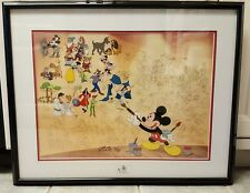 DISNEY MURAL OF MEMORIES  SERICEL WALT DISNEY LIMITED EDITION Signed Willie Ito