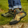 Mens casual Sneakers shoes Camouflage Climbing Outdoor Hiking Ankle Boots