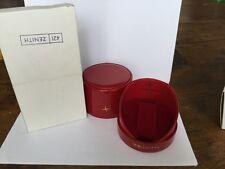 Scatola box zenith stellina rossa per cronografi anni 60/70 rara