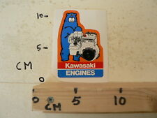 STICKER,DECAL KAWASAKI ENGINES FA210D  STATIONAIRE MOTOR ? GENERATOR ? BEER A