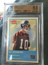 2004 Fleer Tradition Blue Eli Manning Rookie Card Bgs 9.5💵💵rare