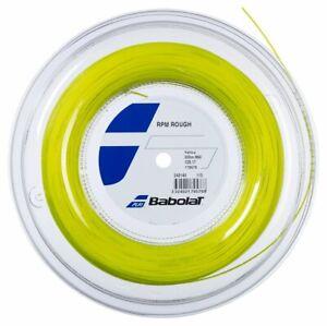 New BabolaT RPM BLAST Rough 125/17 200M Reel Tennis string Yellow  France