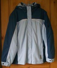 ZeroXposur 3-in-1 Fantastic Coat in Blues w/ Zip-off Hood, Fleece Jacket, Wom. L