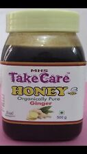 100% Pure Honey Organically Pure Natural With Ginger 100g