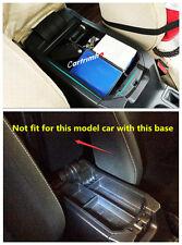 Black Interior Armrest Storage Box Holder For TOYOTA RAV4 2009 - 2017