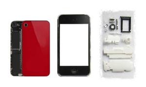Façade / Coque / Cover (Rouge) pour Apple iPhone 3G