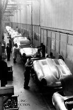 Jaguar 1960s E-Type Jaguar Coventry assembly photograph photo automobile
