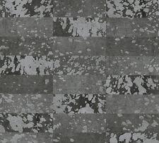 Tapete AS Creation «Saffiano» Vliestapete 340623 34062-3 Felloptik schwarz