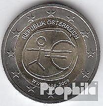 Oostenrijk 2009 Stgl./ongecirculeerd 2009 2 euro e.M.u. - 10 Years Valuta