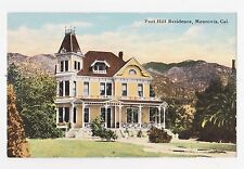 Monrovia,CA.Queen Anne Style Foothill Residence,San Gabriel Valley,L.A.Co.c.1909