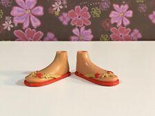 Bratz Dolls Shoes Feet Sun Kissed Summer Sandals  Rare Item! MGA
