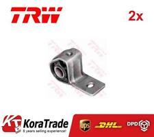 2x TRW JBU116 OUTER CONTROL ARM TRAILING ARM BUSH X2 PCS