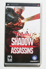 Tenchu Shadow Assassins PSP US NTSC in Mint and Complete Condition