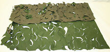 10 Pieces Genuine British Forces Camouflage Netting Garnish DPM 70cm2 NEW UNCUT