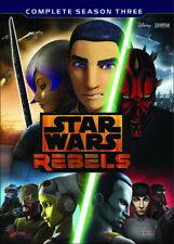 PRE ORDER: STAR WARS REBELS - SEASON 3 - DVD - Region 1 - Sealed