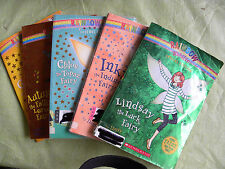 Lot of 5 Rainbow Magic Fairy Books-Kids Paperback-Goldie-Autumn-Inky-Chloe-More