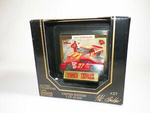 #27 Hut Stricklin McDonalds Racing Champions 1993 Premier Edition Diecast