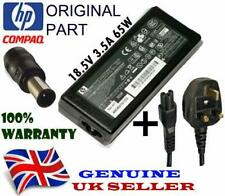 AC Adapter 18.5V 3.5A 65W for HP COMPAQ Notebook, Output Tips: 7.4 x 5.0mm