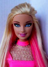 Barbie Doll Fashionista Articulated Pink Locks Redressed Cute