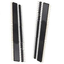 2.54mm 1X40Pin Row PCB Header Male+Female Pins Socket Strip,Arduino Raspberry Pi