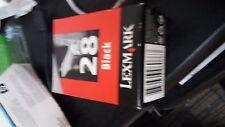 GENUINO 018C1428E LEXMARK 28 CARTUCHO DE TINTA NEGRO