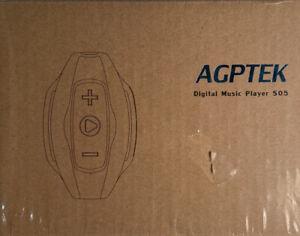 AGPTEK S05 8GB Waterproof MP3 Player With Water Resistant Headphones Swim Run