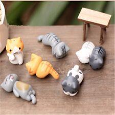 6pcs/Set Neko Atsume Meow Mochi Dango Cat Micro Landscape Mini Doll Figure Gift
