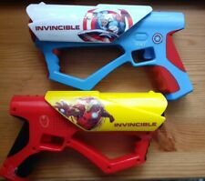 IMC Toys Marvel Avengers IRONMAN, CAPT. AMERICA Mega Laser Set, Lights & Sounds