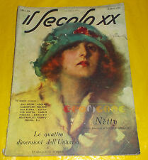IL SECOLO XX 1924 Marzo Giuseppe Palanti, Ada Negri, Adolfo Albertazzi, S. Gotta