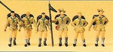 HO Preiser 10260 Six Boy Scout / Boy Scouts : 1/87 scale Figures : New in Box