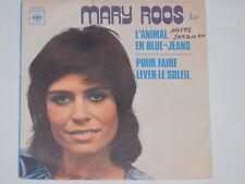 "MARY ROOS -L' Animal En Blue-Jeans- 7"" 45 CBS France"