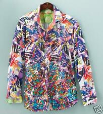 Robert Graham Deluxe Applique Splash Intricate Embroidered Shirt 3XL NEW $398
