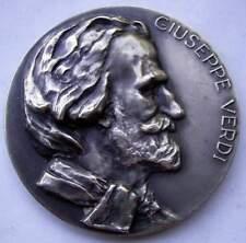 Artistas medalla x & f calicó-barcelona 1965-guiseppe verdi