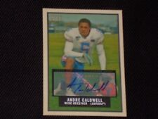 ANDRE CALDWELL TOPPS CERTIFIED ROOKIE SIGNED AUTOGRAPHED CARD FLORIDA GATORS